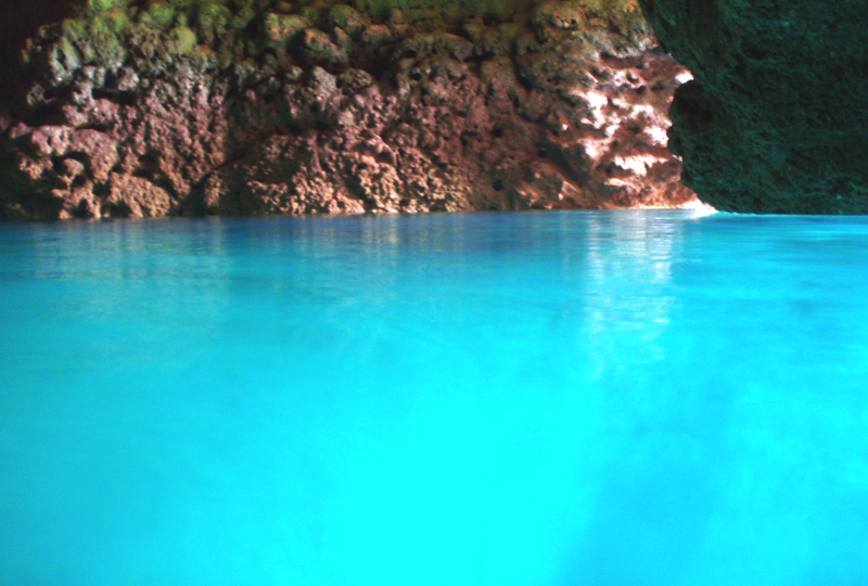 snorkeling in the Blue Cav