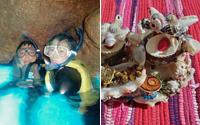 マングローブカヤック+シーサー作り体験+沖縄青の洞窟シュノーケル